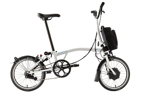 Brompton H2L Wit - Leasefiets