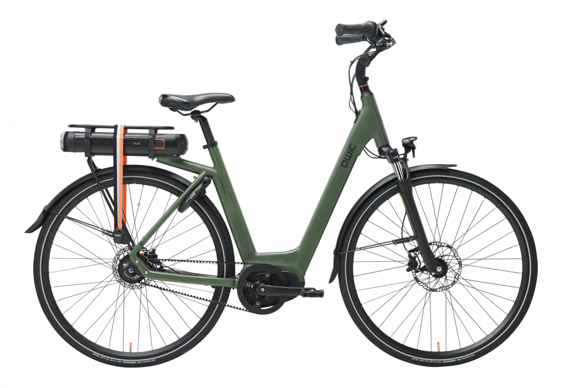 Qwic MN8 Belt - Leasefiets